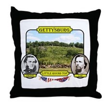 Gettysburg-Little Round Top Throw Pillow