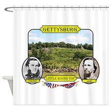Gettysburg-Little Round Top Shower Curtain