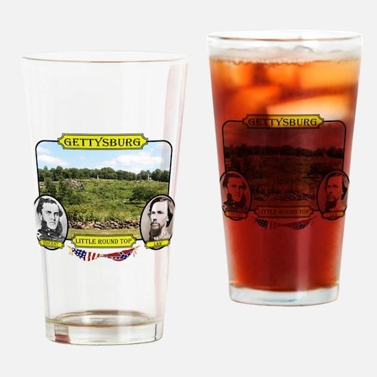 Gettysburg-Little Round Top Drinking Glass