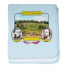 Gettysburg-Little Round Top baby blanket