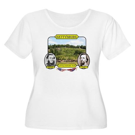 Gettysburg-Little Round Top Plus Size T-Shirt