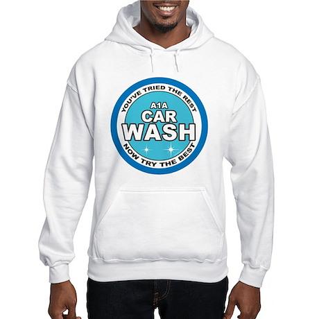 A1A Car Wash Hooded Sweatshirt