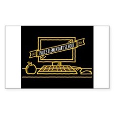 2013-2014 Palcs Banner Elementary Decal