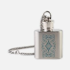 bluescroll_4 Flask Necklace