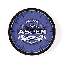 Aspen Midnight Wall Clock