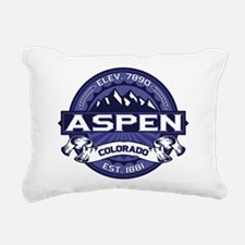 Aspen Midnight Rectangular Canvas Pillow