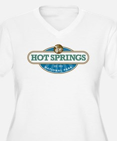 Hot Springs National Park Plus Size T-Shirt