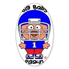 Pig Baby Pigskin Decal