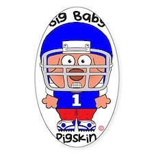 Pig Baby Pigskin Stickers