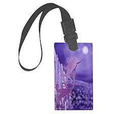 lavender mermaid area rug Luggage Tag