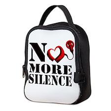 No More Silence Neoprene Lunch Bag