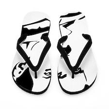 Nikola Tesla Flip Flops