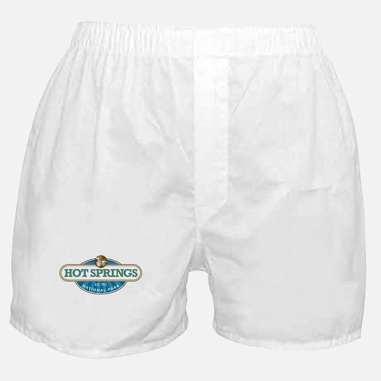 Hot Springs National Park Boxer Shorts