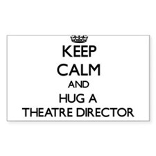 Keep Calm and Hug a Theatre Director Stickers