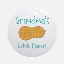Personalized Little Peanut Ornament (Round)