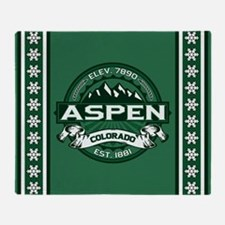 Aspen Forest Throw Blanket
