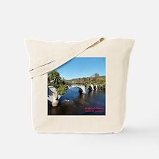 Bridge of Flowers Tote Bag
