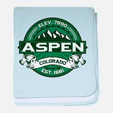 Aspen Forest baby blanket
