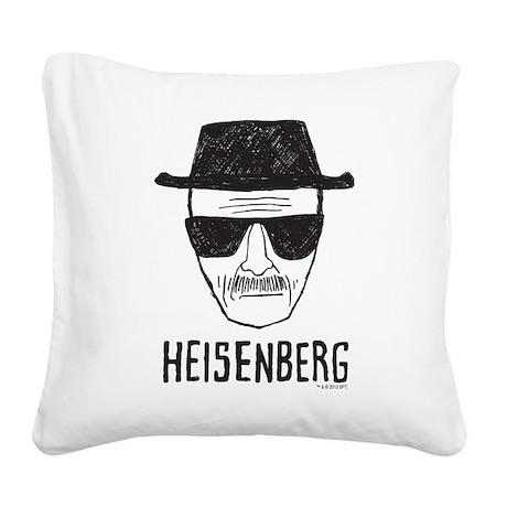 Heisenberg Square Canvas Pillow