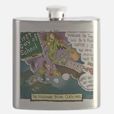 The Nightmare Before Class-mas Flask