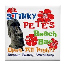 Stinky Petes 3 Tile Coaster