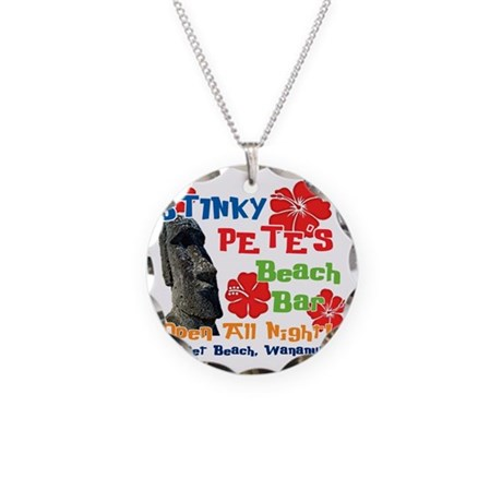 Stinky Petes 3 Necklace Circle Charm