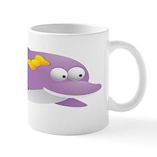 Purple Dolphin for Kids Shirt Mug