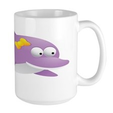 Purple Dolphin for Kids Shirt Mug