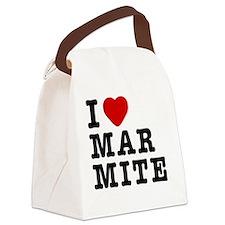 I Love Marmite Canvas Lunch Bag