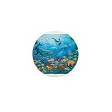 Oceanscape Mini Button