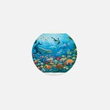 Oceanscape Mini Button