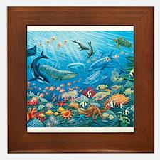 Oceanscape Framed Tile