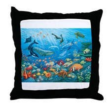 Oceanscape Throw Pillow