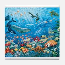 Oceanscape Tile Coaster