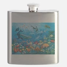 Oceanscape Flask