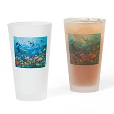 Oceanscape Drinking Glass