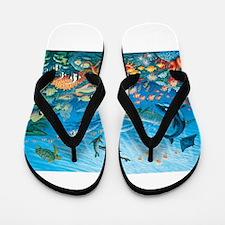 Oceanscape Flip Flops