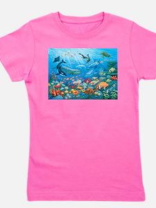 Oceanscape Girl's Tee