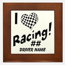 Custom Racing Framed Tile