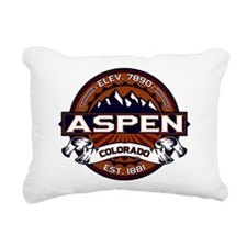 Aspen Vibrant Rectangular Canvas Pillow