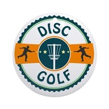 Disc Golf Round Ornament
