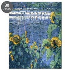 Sunflowers on the Banks of the Seine - Cail Puzzle