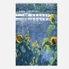 Sunflowers on the Banks o Postcards (Package of 8)
