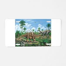 Huayangosaurus Aluminum License Plate