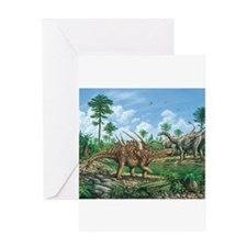 Huayangosaurus Greeting Cards