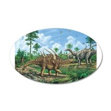 Huayangosaurus Wall Decal