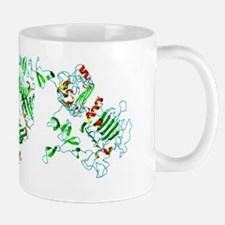Herceptin breast cancer drug molecule Mug
