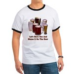 Beer and Sex Ringer T