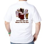 Beer and Sex Golf Shirt