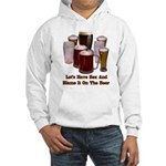 Beer and Sex Hooded Sweatshirt
